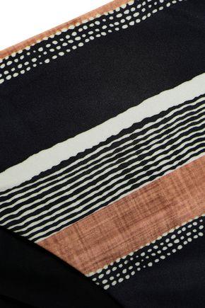 VIX PAULA HERMANNY Striped bikini briefs