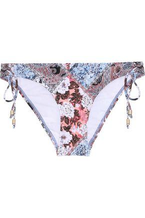 JETS AUSTRALIA by JESSIKA ALLEN Floral-print low-rise bikini briefs