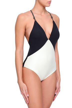VIX PAULA HERMANNY Two-tone swimsuit