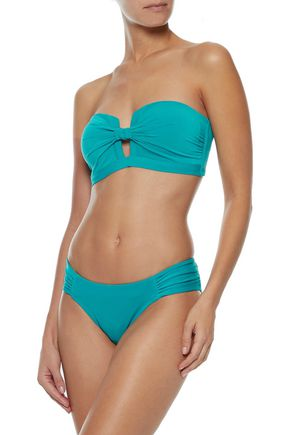 JETS AUSTRALIA by JESSIKA ALLEN Jetset Tab Front knotted bandeau bikini top
