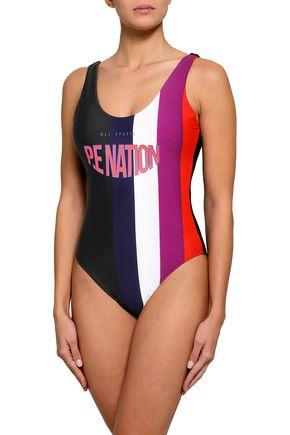P.E NATION The Mavericks printed swimsuit