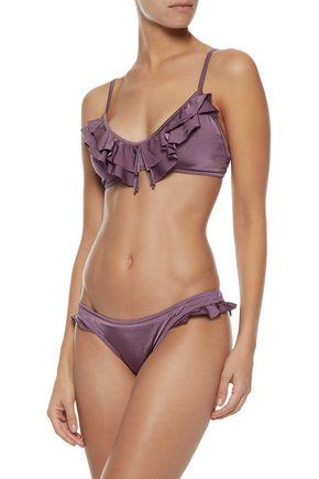 JETS AUSTRALIA by JESSIKA ALLEN Ruffled bikini top
