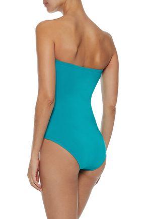 JETS AUSTRALIA by JESSIKA ALLEN Jetset crossover bandeau swimsuit