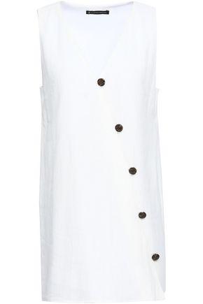 VIX PAULA HERMANNY Linen and cotton-blend coverup