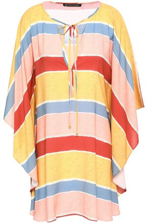 VIX PAULA HERMANNY Guadalupe striped voile kaftan