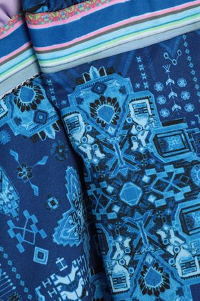 MATTHEW WILLIAMSON Inca printed halterneck swimsuit