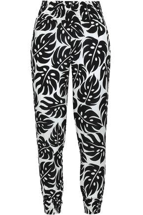MIKOH Printed voile beach pants