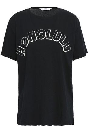 MIKOH プリント コットンジャージー Tシャツ