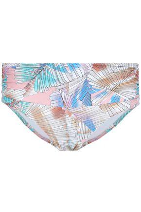 MELISSA ODABASH Bel Air printed bikini briefs