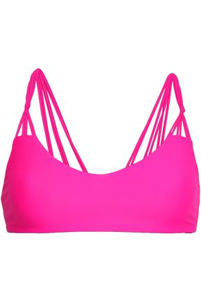 MIKOH Knotted bikini top