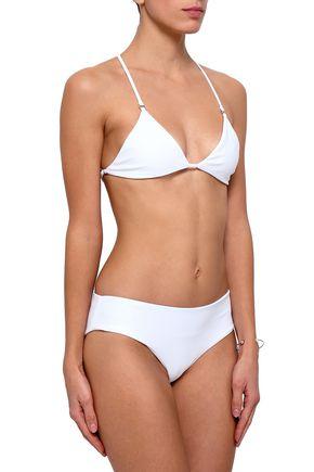 MIKOH Ahulani triangle bikini top