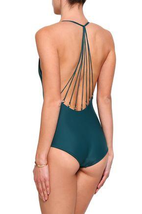 MIKOH Halterneck swimsuit
