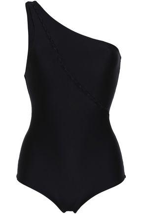MIKOH Mau Loa one-shoulder cutout swimsuit