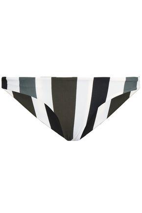 MIKOH Printed low-rise bikini briefs