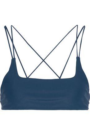 MIKOH Alapio strap-detailed bikini top