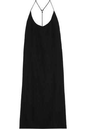 MIKOH Corsica silk-crepe dress