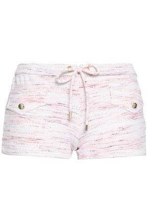 MELISSA ODABASH Tamara printed piqué swim shorts
