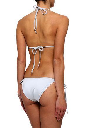 MELISSA ODABASH Cancun printed triangle bikini top