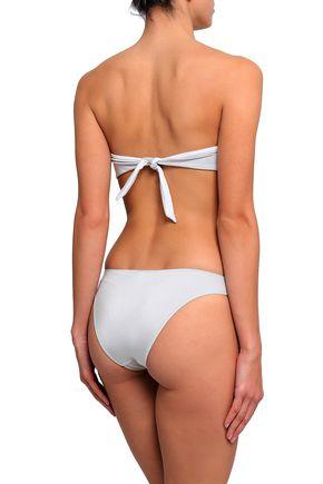 MELISSA ODABASH Barcelona ruched bandeau bikini top