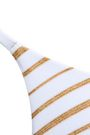 MELISSA ODABASH Bali metallic triangle bikini top