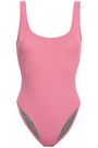 BOWER Ideal open-back swimsuit