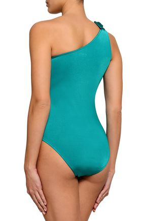 BOWER One-shoulder swimsuit
