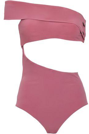 ALIX One-shoulder cutout swimsuit