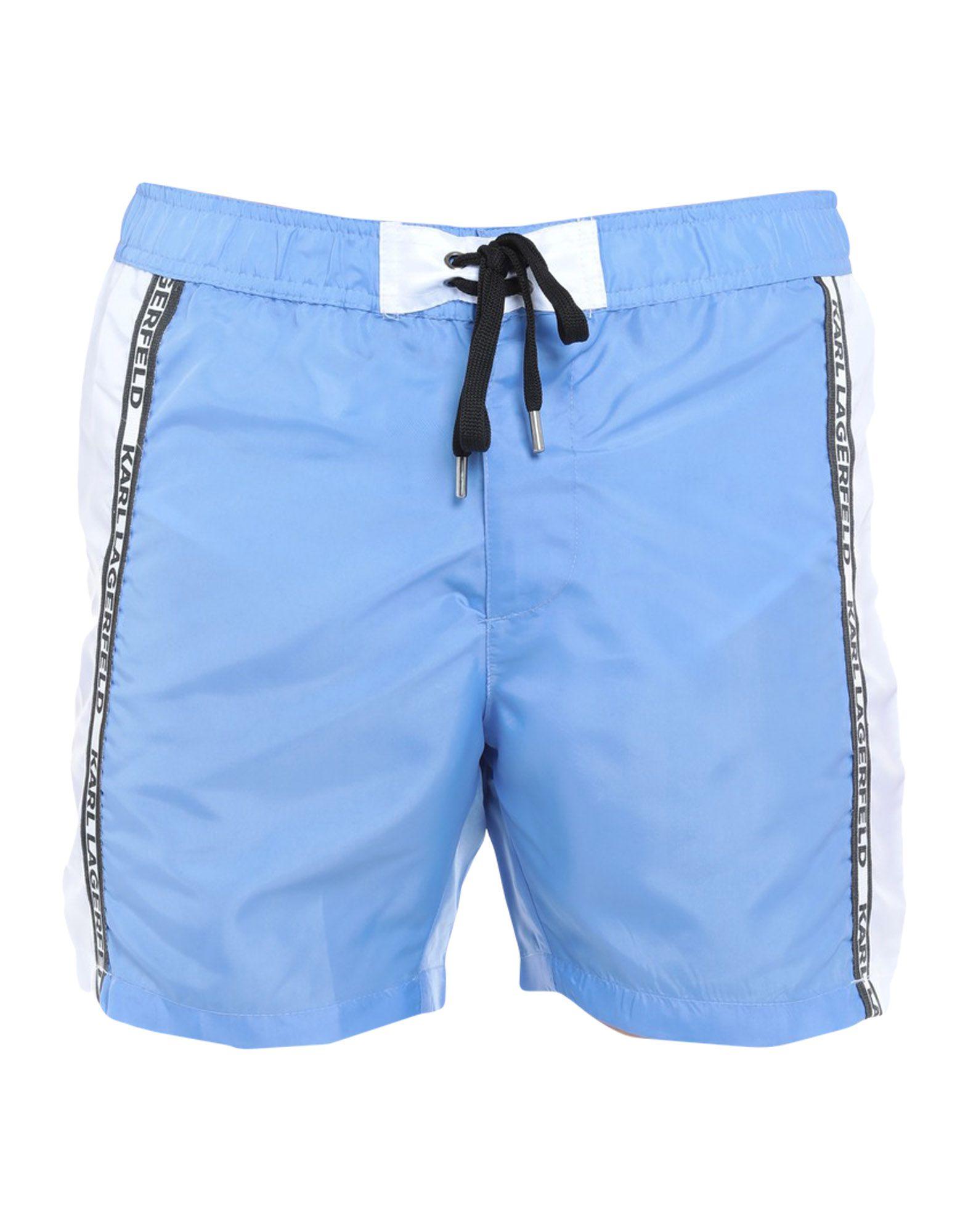 KARL LAGERFELD Шорты для плавания шорты джинсовые karl lagerfeld kids шорты джинсовые