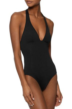 IRIS & INK Athena halterneck swimsuit