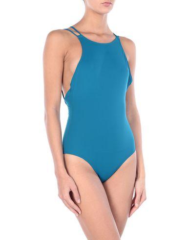 Фото - Слитный купальник пастельно-синего цвета