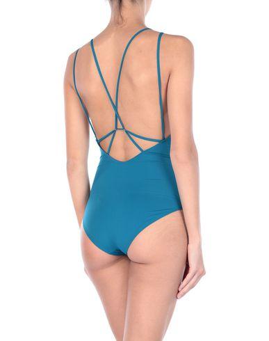 Фото 2 - Слитный купальник пастельно-синего цвета