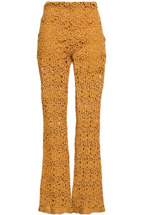 MIGUELINA Kai lace flared pants