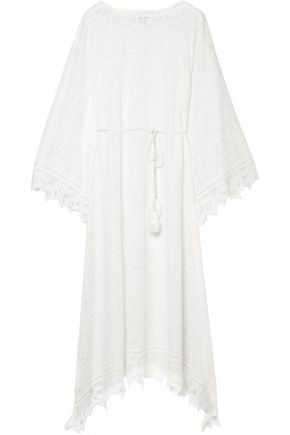 MIGUELINA Macramé lace cover up