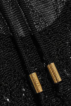 MELISSA ODABASH Open-back pointelle-knit coverup