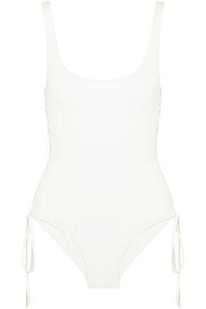 MELISSA ODABASH Cuba lace-up swimsuit