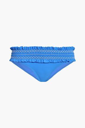 TORY BURCH Shirred bikini briefs