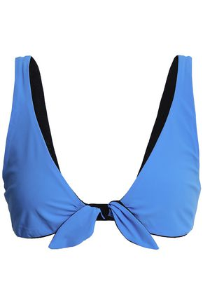 TORY BURCH Tie-front bikini top