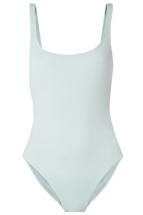 SOLID & STRIPED The Jennifer embellished cutout swimsuit