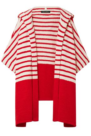 TABULA RASA Jahan striped cotton-blend terry hooded wrap