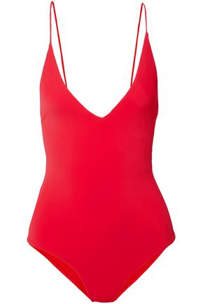 DION LEE Open-back swimsuit