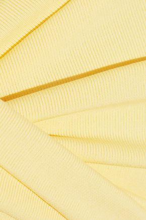 MELISSA ODABASH Martinique twist-front bandeau bikini top