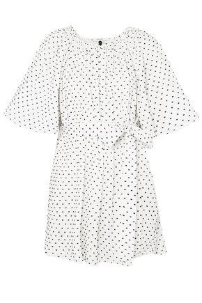 MARYSIA Cotton fil coupé mini dress