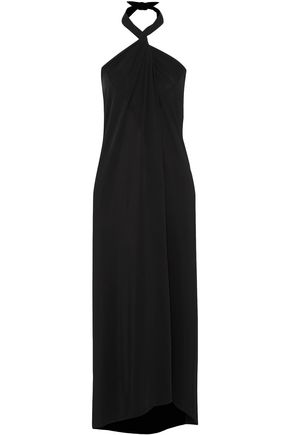ON THE ISLAND by MARIO SCHWAB Convertible jersey maxi dress