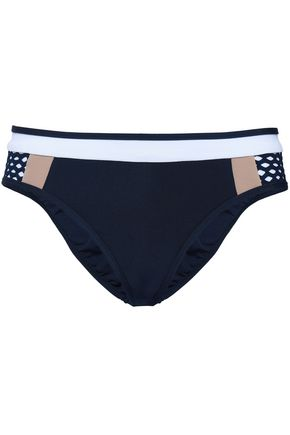 JETS AUSTRALIA by JESSIKA ALLEN Paneled color-block low-rise bikini briefs