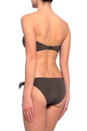 JETS AUSTRALIA by JESSIKA ALLEN Strapless cutout knotted bandeau bikini top