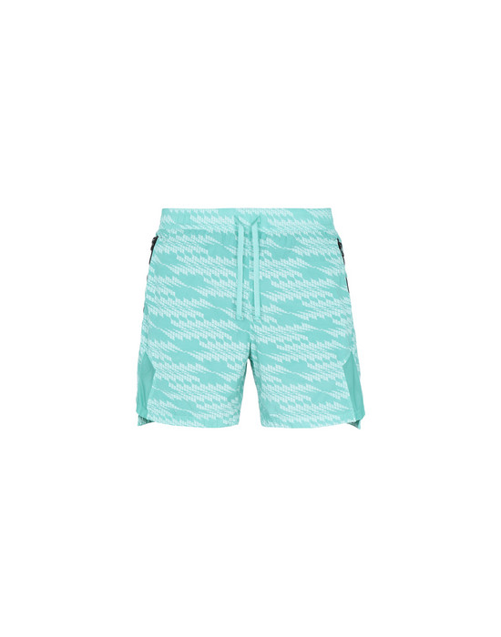 SHADOW PROJECT SWIM SHORTS B0113 SWIM TRUNKS (PRINTED NASLAN LIGHT) STONE ISLAND SHADOW PROJECT - 0