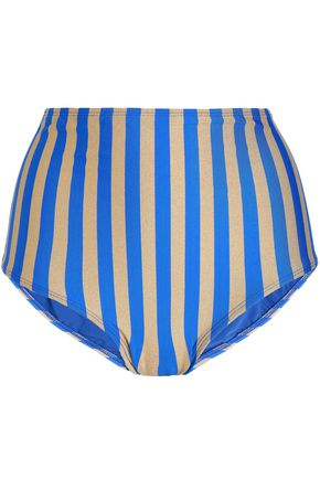DIANE VON FURSTENBERG Striped bikini briefs