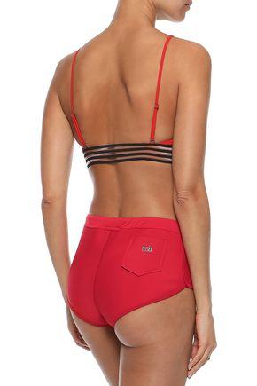 DUSKII Kailua neoprene mid-rise bikini briefs