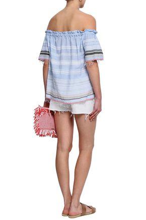 LEMLEM Tiered printed cotton and silk-blend dress