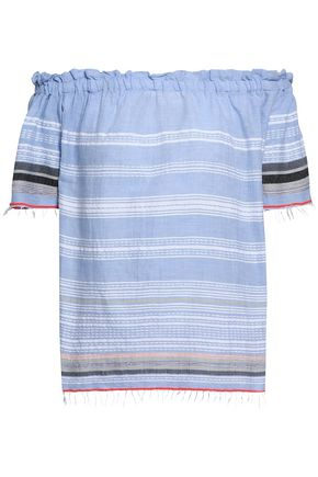 LEMLEM Tiered printed cotton and silk-blend dress